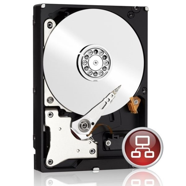 "WD10EFRX 1TB 3,5"" Desktop 5400rpm, 64 MB puffer, SATA3 - Red"