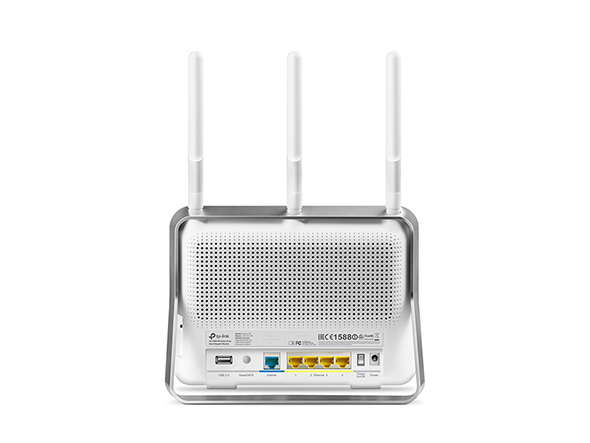 Router WiFi AC1900 - Archer C9 (600Mbps 2,4GHz + 1300Mbps 5GHz; 4port 1000Mbps; 1xUSB3.0 + 1xUSB2.0; 3x3MIMO)