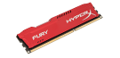 Memória HYPERX DDR3 8GB 1600MHz CL10 DIMM Fury Red Series