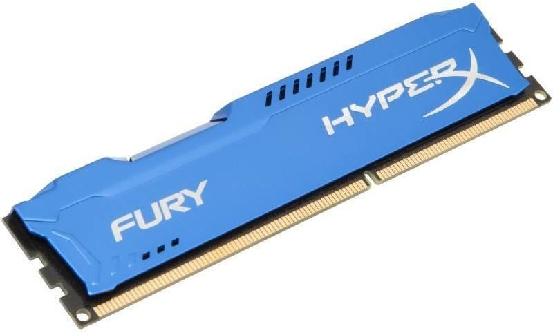HyperX Fury Blue 4GB DDR3 1600MHz CL10 DIMM (HX316C10F/4)