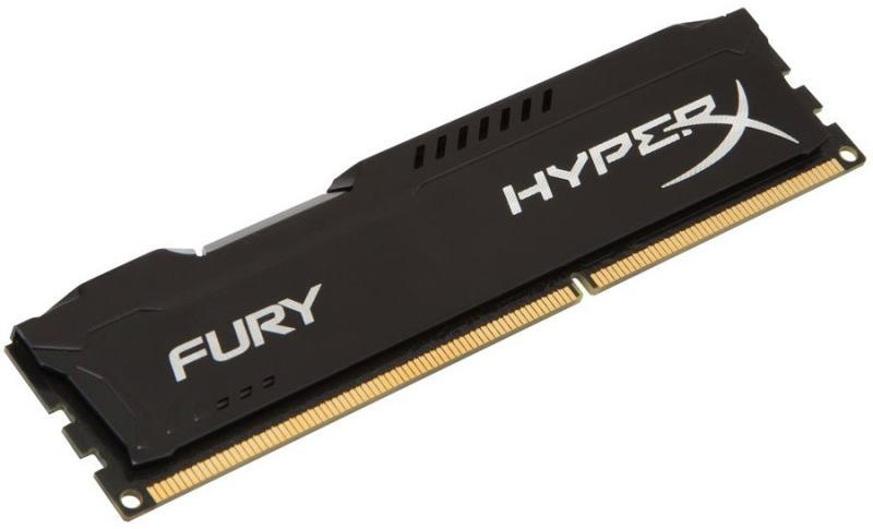 HyperX Fury Black 4GB DDR3 1866MHz CL10 DIMM (HX318C10FB/4)