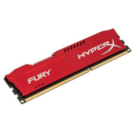 HyperX Fury Red 4GB DDR3 1866MHz CL10 DIMM (HX318C10FR/4)