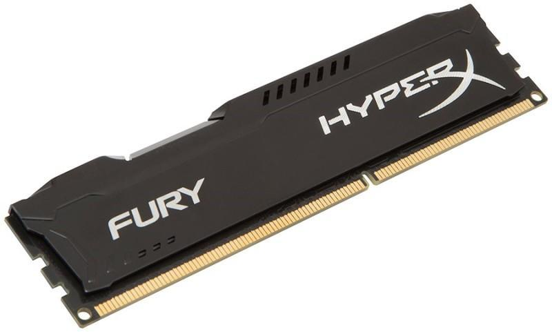 HyperX Fury Black 8GB DDR3 1600MHz CL10 DIMM (HX316C10FB/8)