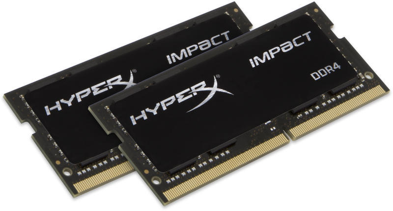 HyperX Impact 2x16GB DDR4 2400MHz CL14 SO-DIMM (HX424S14IBK2/32)