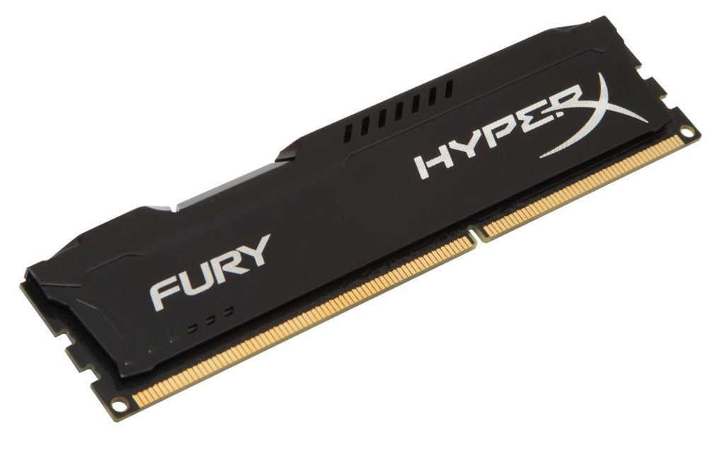 HyperX Fury Black 4GB DDR3 1600MHz CL10 DIMM (HX316C10FB/4)