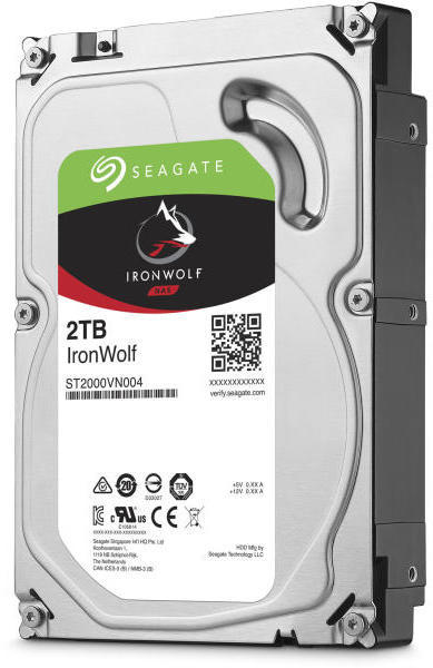 IronWolf (NAS) - 2TB 5900rpm SATA3 64MB 3.5