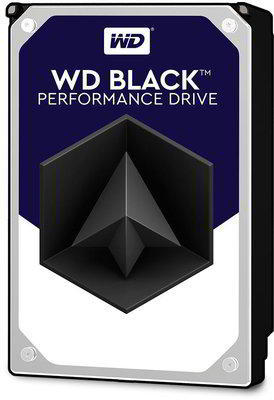 Black - 4TB 7200rpm SATA3 256MB 3.5