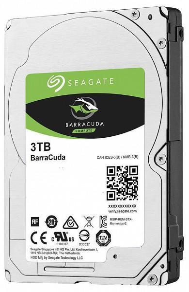 Barracuda - 3TB 5400rpm SATA3 128MB 2.5